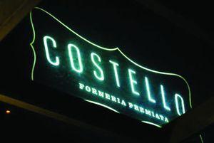 Costello letreiro